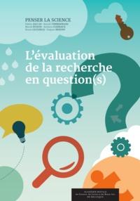 Edwin Zaccaï et Benoît Timmermans - L'évaluation de la recherche en question(s).