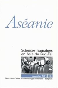 Pierre Colombier et François Lagirarde - Aséanie N° 16, décembre 2005 : .