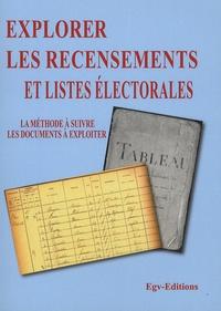 Explorer les recensements et listes électorales en généalogie - La méthode à suivre, les documents à exploiter.pdf