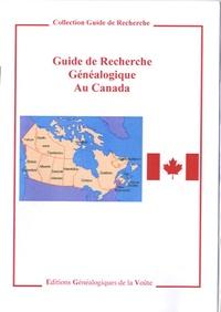 EGV Editions - Guide de recherche généalogique au Canada.