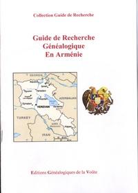 EGV Editions - Guide de recherche généalogique en Arménie.