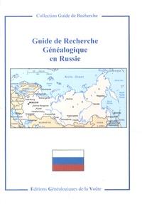 EGV Editions - Guide de recherche généalogique en Russie.