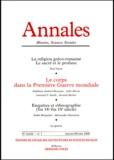 EHESS - ANNALES HISTOIRE, SCIENCES SOCIALES N° 1 JANVIER-FEVRIER 2000.