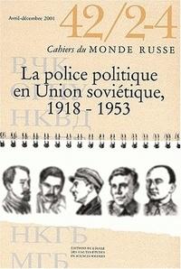 EHESS - La police politique en Union soviétique, 1918-1953.