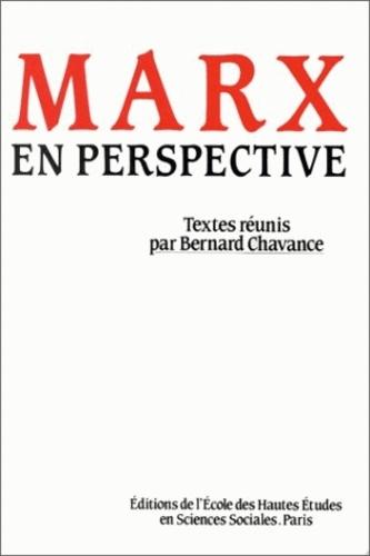 EHESS - Marx en perspective.