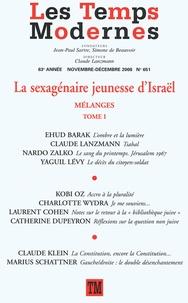 Ehud Barak - Les Temps Modernes N° 651, Novembre-Déc : La sexuagénaire jeunesse d'Israël - Mélanges.