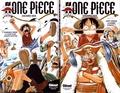 Eiichirô Oda - One Piece  : 2 volumes : Tome 1, Romance Dawn à l'aube d'une grande aventure ; Tome 2, Luffy versus la bande à Baggy !!.