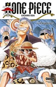 "Eiichirô Oda - One Piece - Édition originale - Tome 08 - ""Je ne mourrai pas !""."