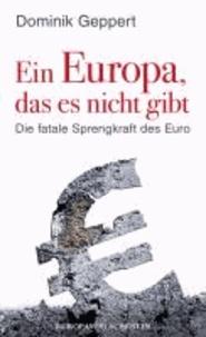 Ein Europa, das es nicht gibt - Die fatale Sprengkraft des Euro Mit einem Vorwort von Udo DiFabio.