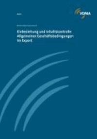 Einbeziehung und Inhaltskontrolle Allgemeiner Geschäftsbedingungen im Export.