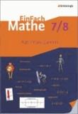 EinFach Mathe 7 / 8. Rationale Zahlen - Jahrgangsstufen 7/8.