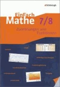 EinFach Mathe. Zuordnungen und Funktionen. Jahrgangsstufen 7/8.