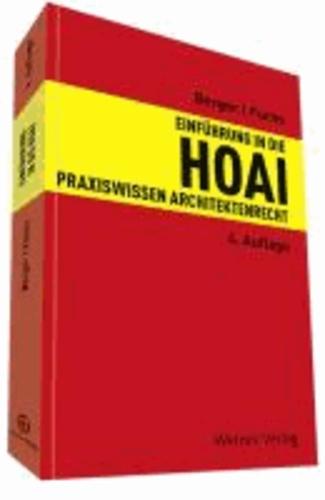 Einführung in die HOAI - Praxiswissen Architektenrecht.