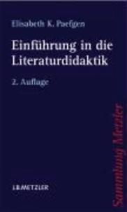 Einführung in die Literaturdidaktik.