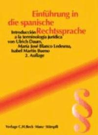 Einführung in die spanische Rechtssprache - Rechtssprachen des Auslands.