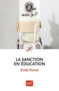 Téléchargement d'ebooks en italien La sanction en éducation 9782130591498 (French Edition) par Eirick Prairat