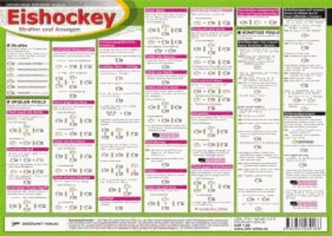 Eishockey: Strafen und Ansagen.