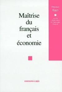 Ekkehard Eggs - Maîtrise du français et économie.