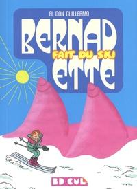 El Don Guillermo - Bernadette fait du ski.