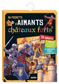 El Gunto - Ma pochette d'aimants Châteaux forts - Avec 35 aimants, 1 poster, 1 château fort à reconstituer.