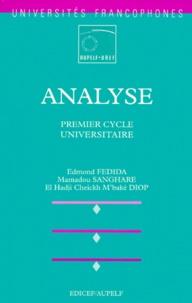 El-Hadji-Cheick-M'baké Diop et Edmond Fédida - Analyse - Premier cycle universitaire.