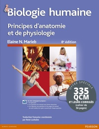 Elaine N. Marieb et Simone Brito - Biologie humaine + QCM & corrigés - Pack en 2 volumes.