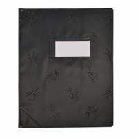 ELBA MOULT - Protège-cahier opaque 17x22cm - noir