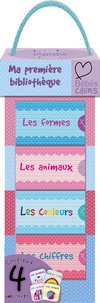 Elcy - Ma première bibliothèque - Coffret en 4 volumes : Les animaux ; Les couleurs ; Les chiffres ; Les formes.