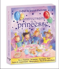 Accentsonline.fr Un Anniversaire de princesse - Coffret de jeux et d'activités Image