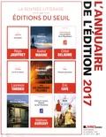 Electre - L'annuaire de l'édition - Supplément au numéro 1094 du 26 août 2016 Livres Hebdo.