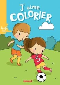Elen Lescoat - J'aime colorier Football.