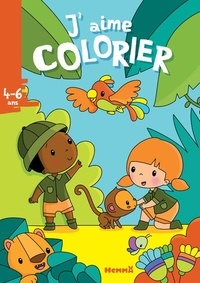 Elen Lescoat - J'aime colorier La jungle.