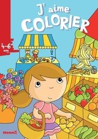 Elen Lescoat - J'aime colorier Marché.