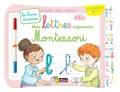 Elen Lescoat - Mes lettres rugueuses Montessori - Avec un feutre effaçable.