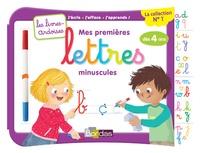Elen Lescoat - Mes premières lettres minuscules, dès 4 ans - Avec 1 feutre effaçable 2 couleurs.