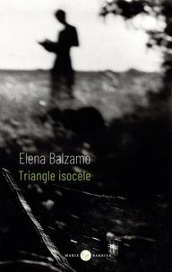 Elena Balzamo - Triangle isocèle.