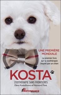 Eléna Kostadinova et Normand Paré - Kosta - Zoothérapie sans frontières.