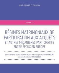 Régimes matrimoniaux de participation aux acquêts et autres mécanismes participatifs entre époux.pdf