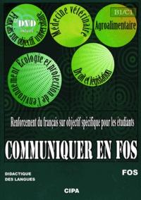 Elena Petrea - Communiquer en FOS - Renforcement du français pour les étudiants. 1 DVD