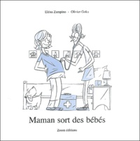 Eléna Zampino - Maman sort des bébés.