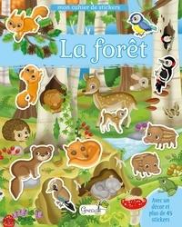 Eleonora Barsotti - La forêt - Avec un décor et plus de 45 stickers.
