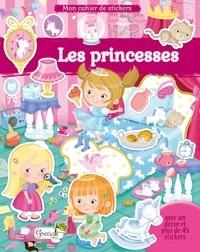 Eleonora Barsotti - Les princesses - Avec un décor et plus de 45 stickers.