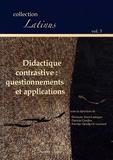 Eléonore Yasri-Labrique et Patricia Gardies - Didactique contrastive : questionnements et applications.
