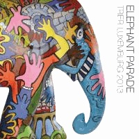 Elephant Parade Trier - Luxembourg 2013.