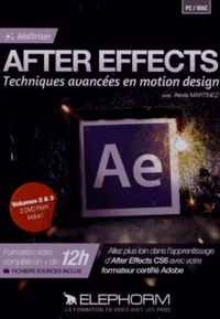 Alexis Martinez - After Effects - Techniques avancées en motion design.