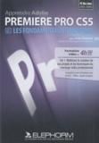 Yves Cochet - Apprendre Adobe Premiere Pro CS5 - Volume 1, Les fondamentaux et le montage. DVD Rom.