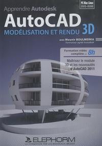Apprendre Autodesk AutoCAD : Modélisation et rendu 3D - DVD-ROM.pdf