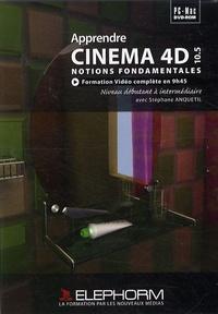 Sophie Anquetil - Apprendre Cinéma 4D - Notions fondamentales, DVD.