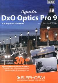 Christophe Gressin - Apprendre DxO Optics Pro 9 et le plugin DxO FilmPack 4. 1 DVD
