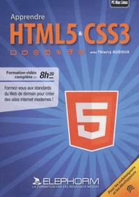 Thierry Audoux - Apprendre HTML5 & CSS3. 1 DVD